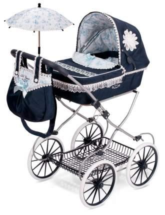 Коляска для кукол DeCuevas с сумкой и зонтиком Романтик 81 см