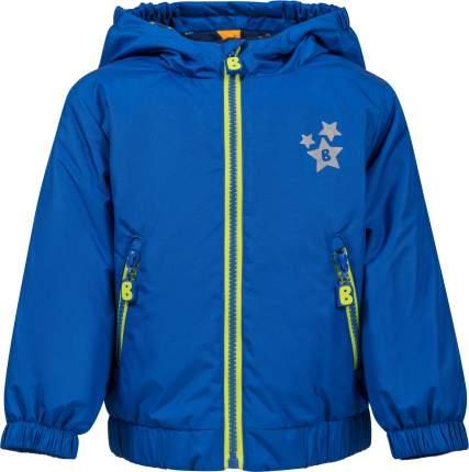 Куртка утепленная для мальчика Barkito синяя р.92
