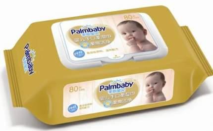 Влажные салфетки PalmBaby с экстрактом ромашки, 80 шт.