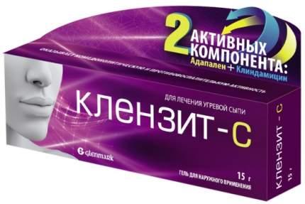 Клензит-С гель 15 г Glenmark Pharmaceuticals