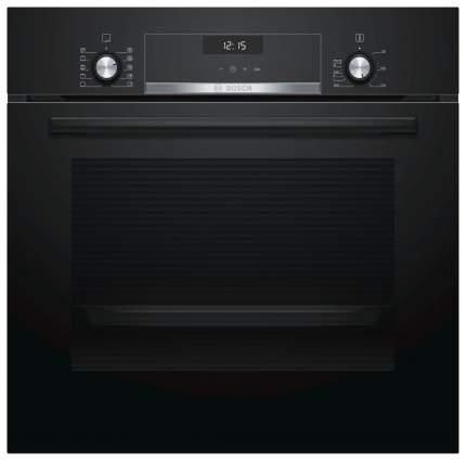Встраиваемый электрический духовой шкаф Bosch HBJ558YB0Q Black