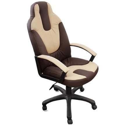 Офисное кресло TetChair Neo 2, бежевый/коричневый