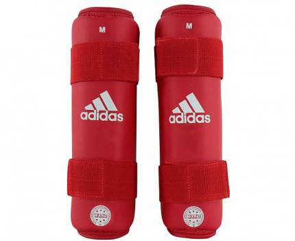 Защита голени Adidas WAKO Kickboxing Shin Guards красная S