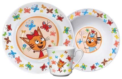 Набор для кормления Приор Групп Три кота - Бабочки