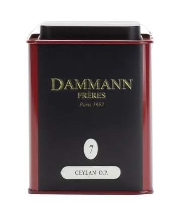 Чай черный Dammann Ceylon O. P. 100 г