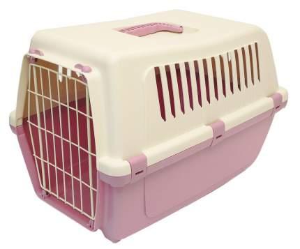 Переноска для животных MP-Bergamo 32x48x33см бежевый, розовый