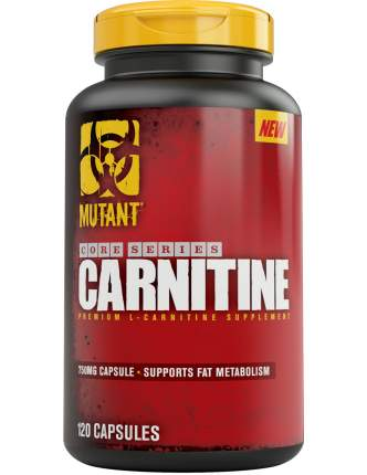 Mutant L-Carnitine Core Series, 120 капсул