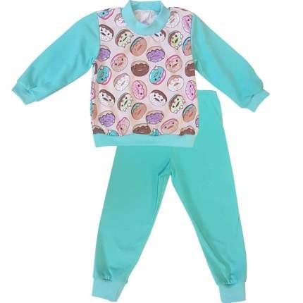 Пижама детская Папитто Пончики р.104 арт.15872-01