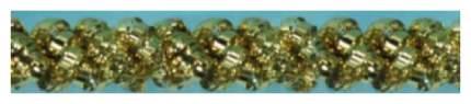 Мишура Snowmen Е70446 Золотистый
