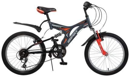 Велосипед Novatrack Titanium 20 (2016) Серый 20SS12V.TITANIUM.GR6