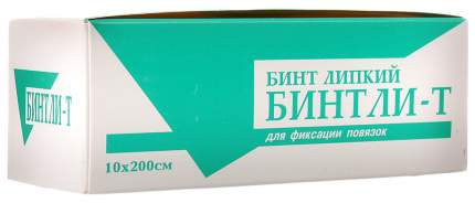Бинт Бинтли-Т липкий проницаемый для фиксации 2 м х 10 см
