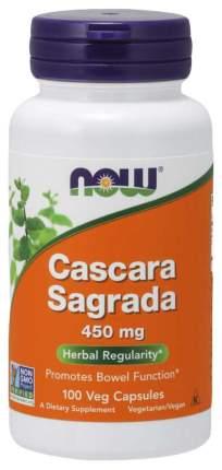 Для пищеварения NOW Cascara Sagrada 450 мг 100 капсул