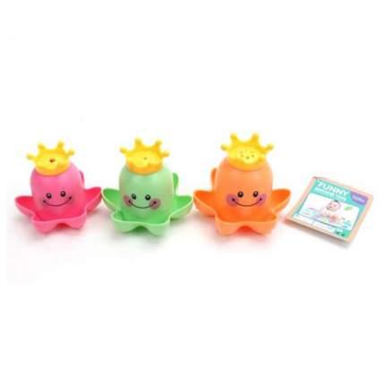 НАША ИГРУШКА Набор игрушек для купания, 3 штуки 6636