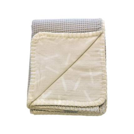 Lodger плед dreamer flannel/honeycomb ivory 75x100cm