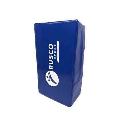 Макивара Rusco Sport 2 ручки 20х40х17, тент, синий