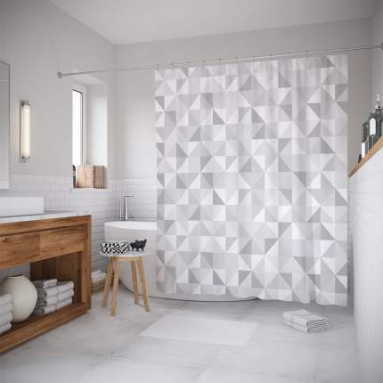 Штора для ванной JoyArty «Мраморный узор» 180x200