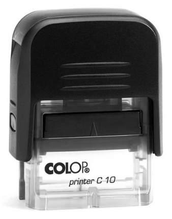 Оснастка для печати Colop C10 Compact Transparent. Цвет корпуса: черный.