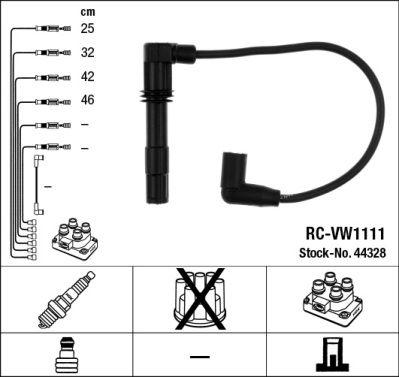 Комплект проводов зажигания NGK 44328
