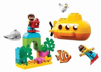 Конструктор LEGO Duplo Путешествие субмарины