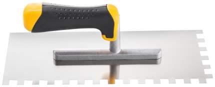 Гладилка Hardy с зубьями, нержавеющая сталь, 6х6мм, 2-х комп. Ручка