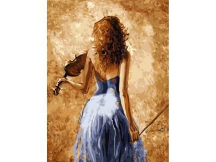 "Картина по номерам EX5881 ""Девушка со скрипкой"""
