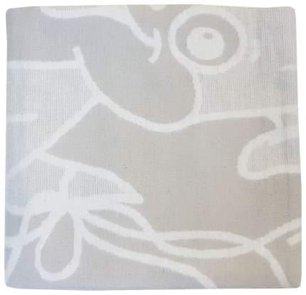 Одеяло детское Папитто байковое 100*140, Серый 1155-8