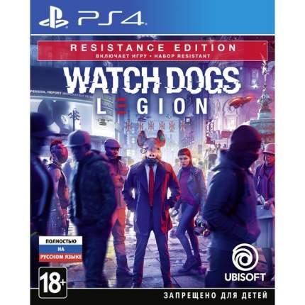 Игра Watch Dogs Legion Resistance Edition для PlayStation 4