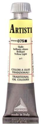 Масляная краска Maimeri Artisti M0102075 желтый яркий светлый 20 мл