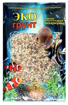 Грунт для аквариума ЭКОгрунт Галька Феодосия мини 1 - 3 мм 1 кг