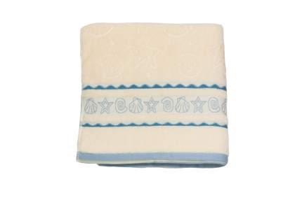 Банное полотенце, полотенце универсальное Belezza maritime голубой