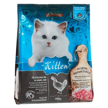 Сухой корм для котят, беременных и кормящих кошек Leonardo Kitten, курица, 0,4кг