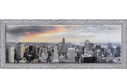 Репродукция в раме с декором Hoff Утро в Нью-Йорке