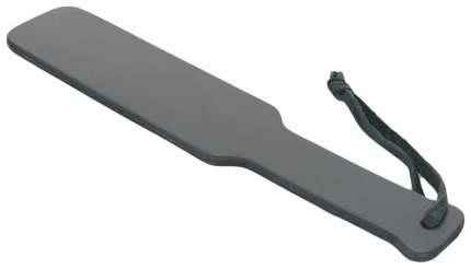 Шлепалка BDSM Арсенал кожаная 30,5 см черный