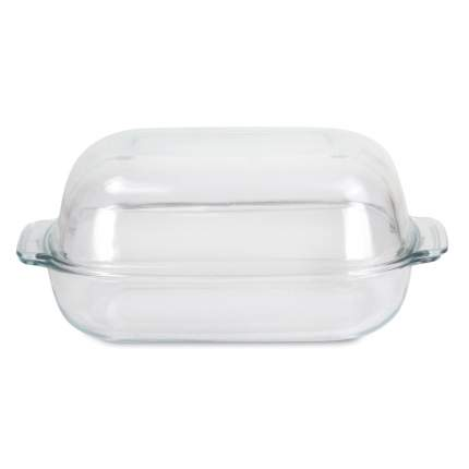Форма стеклянная с крышкой прямоугольная 3.2л