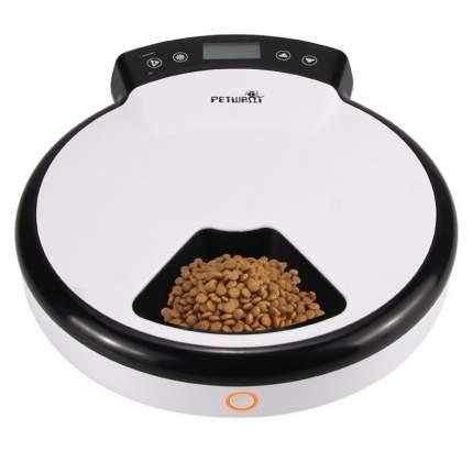 Автоматическая кормушка для кошек и собак Petwant PF-105