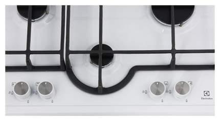 Встраиваемая варочная панель газовая Electrolux GME263XW White