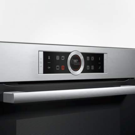 Встраиваемый электрический духовой шкаф Bosch HBG655HS1 Silver