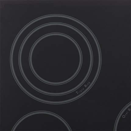 Встраиваемая варочная панель электрическая Hotpoint-Ariston 7HKRO 642 TOZ RU/HA Black