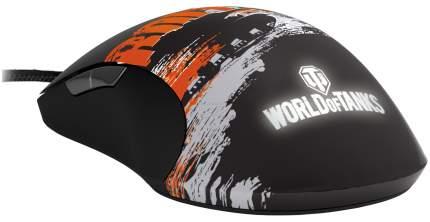 Проводная мышка SteelSeries Sensei Raw World Of Tanks Orange/Black (62162 + 67272)