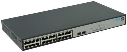 Коммутатор HP 1420-24G-2S JH018A Черный