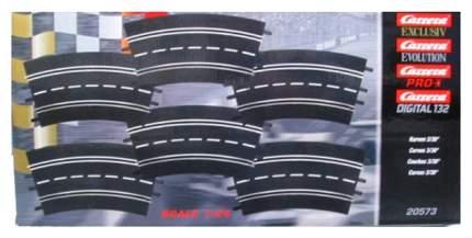 Автотрек Carrera Поворот 3/30° для треков Evolution DIG132, DIG124 Дополнительные части