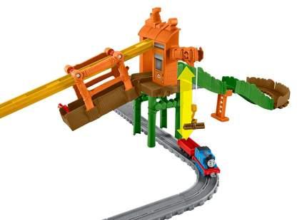 Железная дорога Thomas And Friends с навесной дорогой Переправа на Туманном Острове