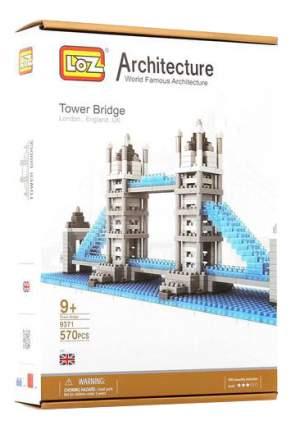 Конструктор пластиковый Детский Конструктор Loz Тауэрский Мост, 570 Деталей 9371