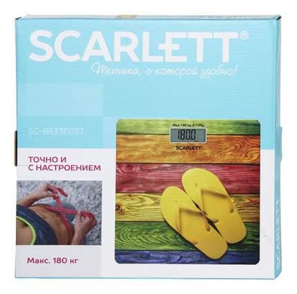 Весы напольные Scarlett SC-BS33E057 Разноцветный