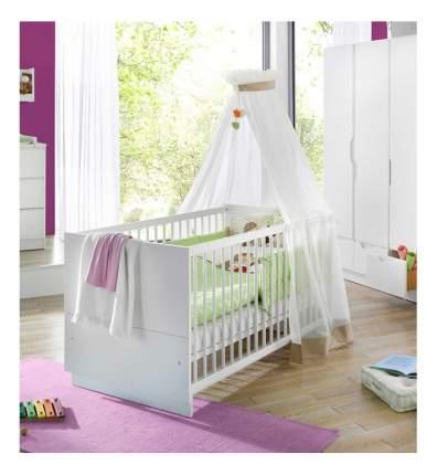 """Детская кровать Geuther """"Fresh"""" белая"""