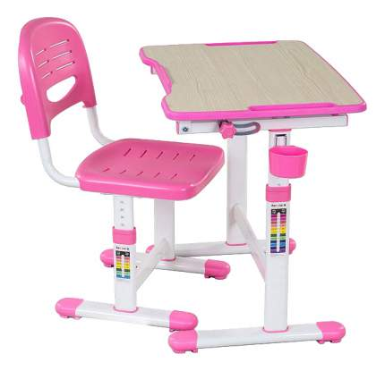 Парта детская FunDesk Piccolino II Pink