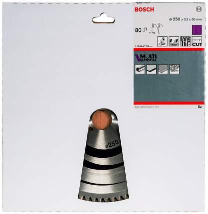 Диск по дереву Bosch STD MM 250x30-80T 2608640516