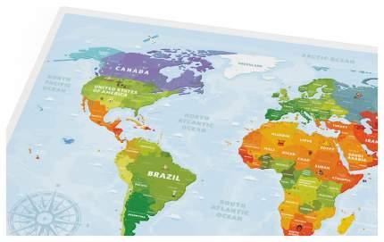 Географическая карта 1DEA.me Travel Map Kids Animals