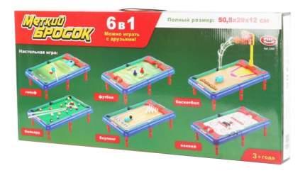 Спортивная настольная игра Play Smart 6 в 1 меткий бросок