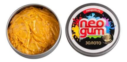 Игрушка-антистресс Neogum Жвачка для рук Золото металлик